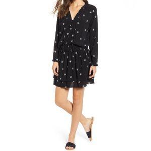 NWT Rails Jasmine Dress Black Rivet Star M